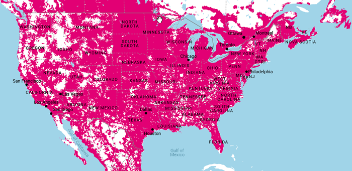 T-Mobile Coverage
